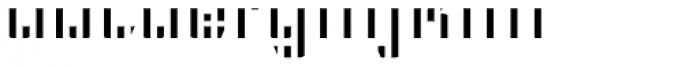 CFB1 American Patriot SPANGLE 2 Bold Italic Font LOWERCASE