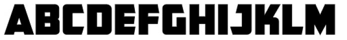 CFB1 American Patriot STRIPE 1 Normal Font UPPERCASE