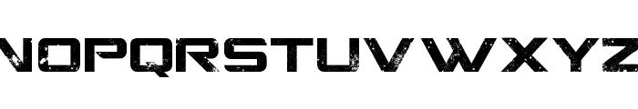 CGF Locust Resistance Font LOWERCASE