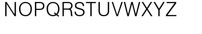 CG Triumvirate Light Font UPPERCASE