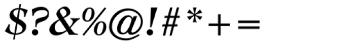CG Adroit Medium Italic Font OTHER CHARS