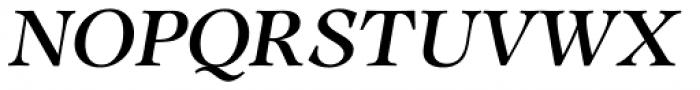 CG Adroit Medium Italic Font UPPERCASE