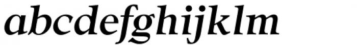 CG Adroit Medium Italic Font LOWERCASE