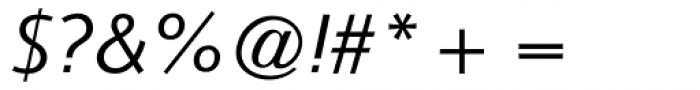 CG Symphony Italic Font OTHER CHARS