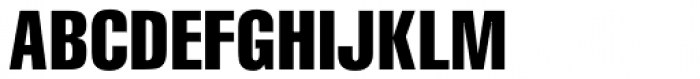 CG Triumvirate Compressed Font UPPERCASE