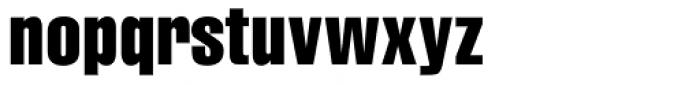 CG Triumvirate Compressed Font LOWERCASE
