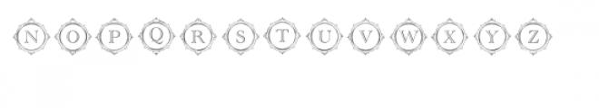 cg alphabet monogram aristocratic Font UPPERCASE
