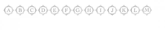 cg alphabet monogram aristocratic Font LOWERCASE