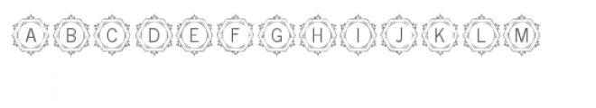 cg alphabet monogram artistic Font LOWERCASE