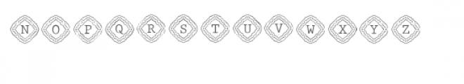 cg alphabet monogram graceful Font LOWERCASE