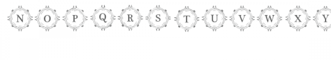 cg alphabet monogram majestic Font UPPERCASE