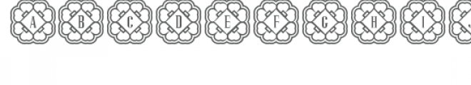 cg alphabet monogram rare Font UPPERCASE