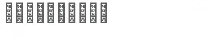 cg circle frame shapes dingbat Font OTHER CHARS