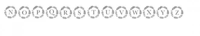 cg monogram font spring Font UPPERCASE