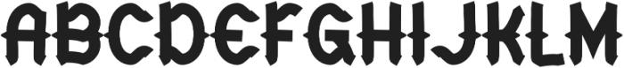 CHILD OF THE GRAVE Bold otf (700) Font UPPERCASE