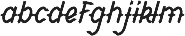 CHILD OF THE GRAVE Italic otf (400) Font LOWERCASE