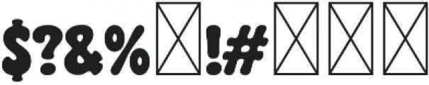 CHILL PILL Regular otf (400) Font OTHER CHARS