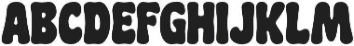 CHILL PILL Regular otf (400) Font LOWERCASE