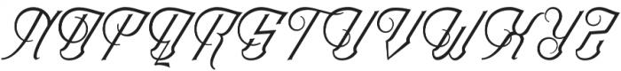 Chadlershire V2 Regular otf (400) Font UPPERCASE