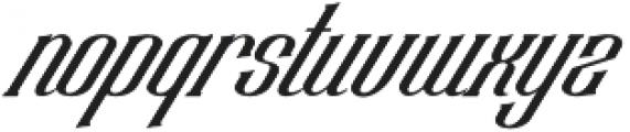 Chadlershire V2 Regular otf (400) Font LOWERCASE