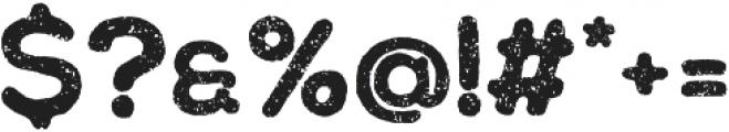 Chalif Press Bold otf (700) Font OTHER CHARS