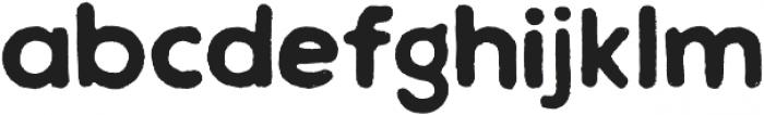 Chalif Rough Bold otf (700) Font LOWERCASE