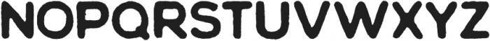 Chalif Rough Bold ttf (700) Font UPPERCASE
