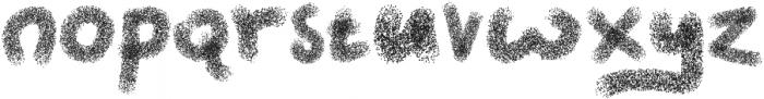 Chalk Thoelis otf (400) Font LOWERCASE