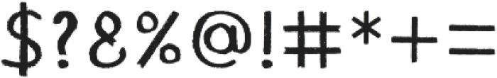 Chalk ttf (400) Font OTHER CHARS