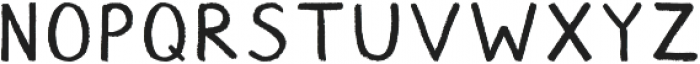 Chalk ttf (400) Font UPPERCASE