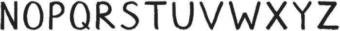 Chalk ttf (400) Font LOWERCASE