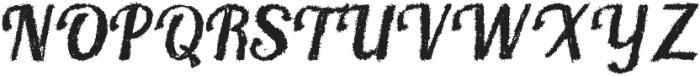 Chalkboard otf (400) Font UPPERCASE