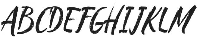 Chalker otf (400) Font UPPERCASE