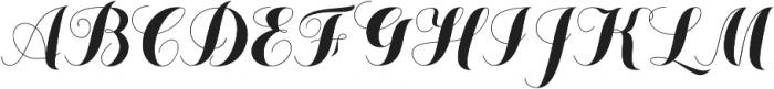 Chameleon Basic otf (400) Font UPPERCASE