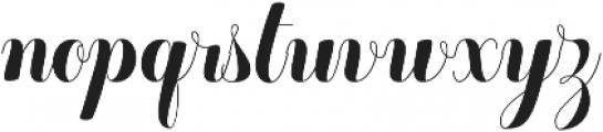 Chameleon Basic otf (400) Font LOWERCASE