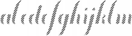 Chameleon Fill otf (400) Font LOWERCASE