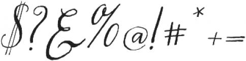 Chameleon Pen otf (400) Font OTHER CHARS