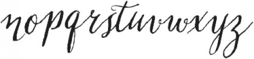 Chameleon Pen otf (400) Font LOWERCASE
