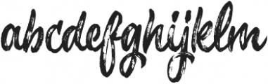 Chameleon-Regular otf (400) Font LOWERCASE