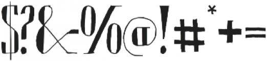 Chameleon Sketch Basic otf (400) Font OTHER CHARS