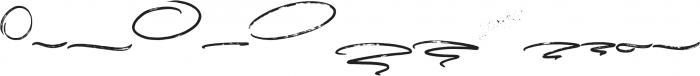 Chameleon Swashes and Splatters otf (400) Font LOWERCASE