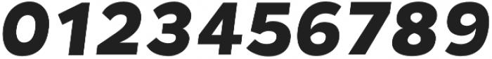 Chamfort Family Black Italic otf (900) Font OTHER CHARS