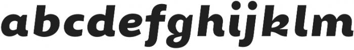 Chamfort Family Black Italic otf (900) Font LOWERCASE