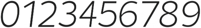 Chamfort Family Light Italic otf (300) Font OTHER CHARS