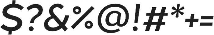 Chamfort Family Medium Italic otf (500) Font OTHER CHARS