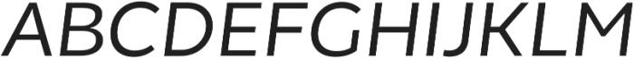 Chamfort Family otf (400) Font UPPERCASE