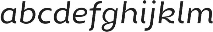 Chamfort Family otf (400) Font LOWERCASE