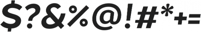 Chamfort Family otf (700) Font OTHER CHARS