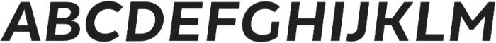 Chamfort Family otf (700) Font UPPERCASE