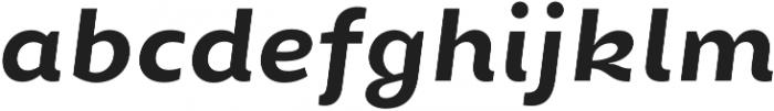 Chamfort Family otf (700) Font LOWERCASE